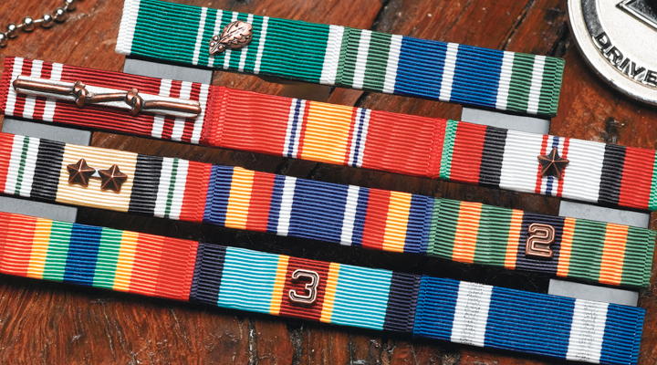 How Many Different Ribbons Can You Earn In The Military?